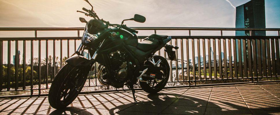 Klasse A2 Honda CB 500 F